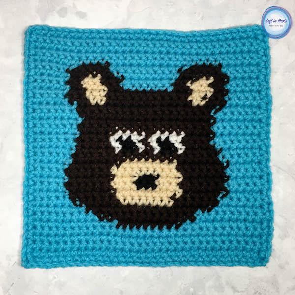 Grids for Kids Forest Friends: Bear