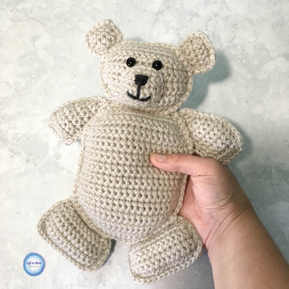 Free Teddy Bear crochet pattern - Amigurumi Today | 576x576