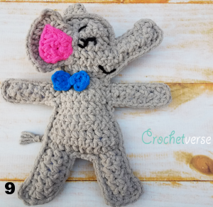 Free pattern - Elephant Snuggle - Dendennis | Crochet | Knit | Craft | 292x300