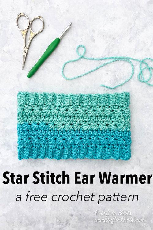 Snowdrop Button Ear Warmer