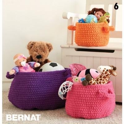 Crochet Clutter Catcher Baskets