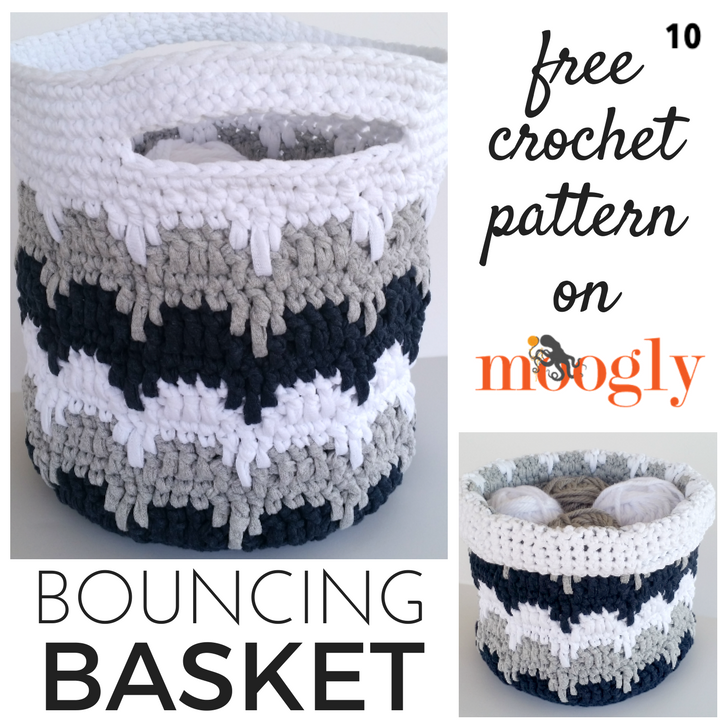 Crochet Bouncing Basket