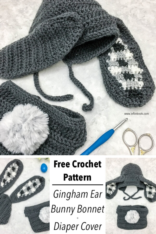 Fast and simple crochet patterns are always important to keep in your crochet library! This easy and fast crochet bonnet pattern is written in 6 sizes for newborn through adult, is easily customizable, and is the perfect project for baby gifts, costumes and newborn photos.
