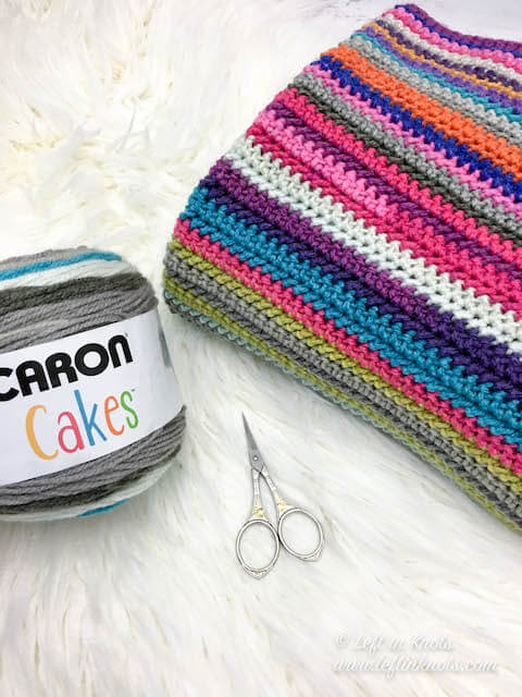 Crochet a Scrapghan with Cake Yarn from Your Stash - Free