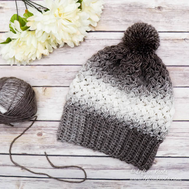 Crochet Coffee Bean Beanie - Free Pattern — Left in Knots