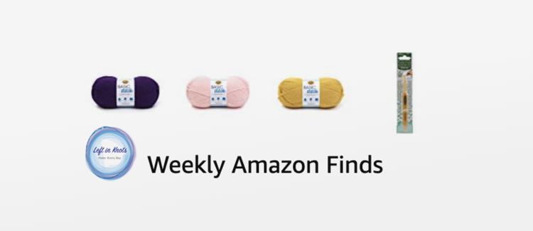 Weekly Amazon Yarn Finds