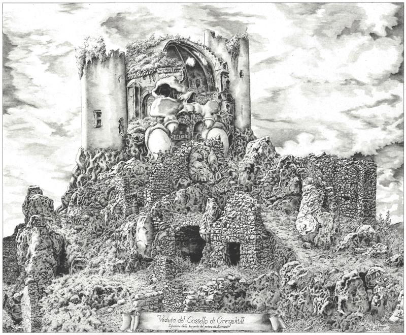 Veduta del Castello di Greyskull