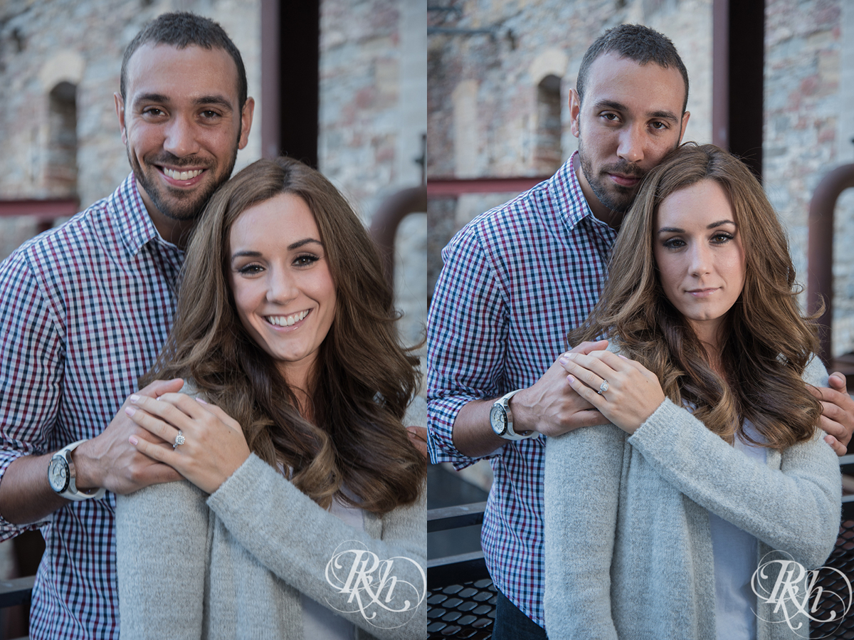 Brittany & Justin - Minneapolis Engagement Photography - Mill City Ruins -33a