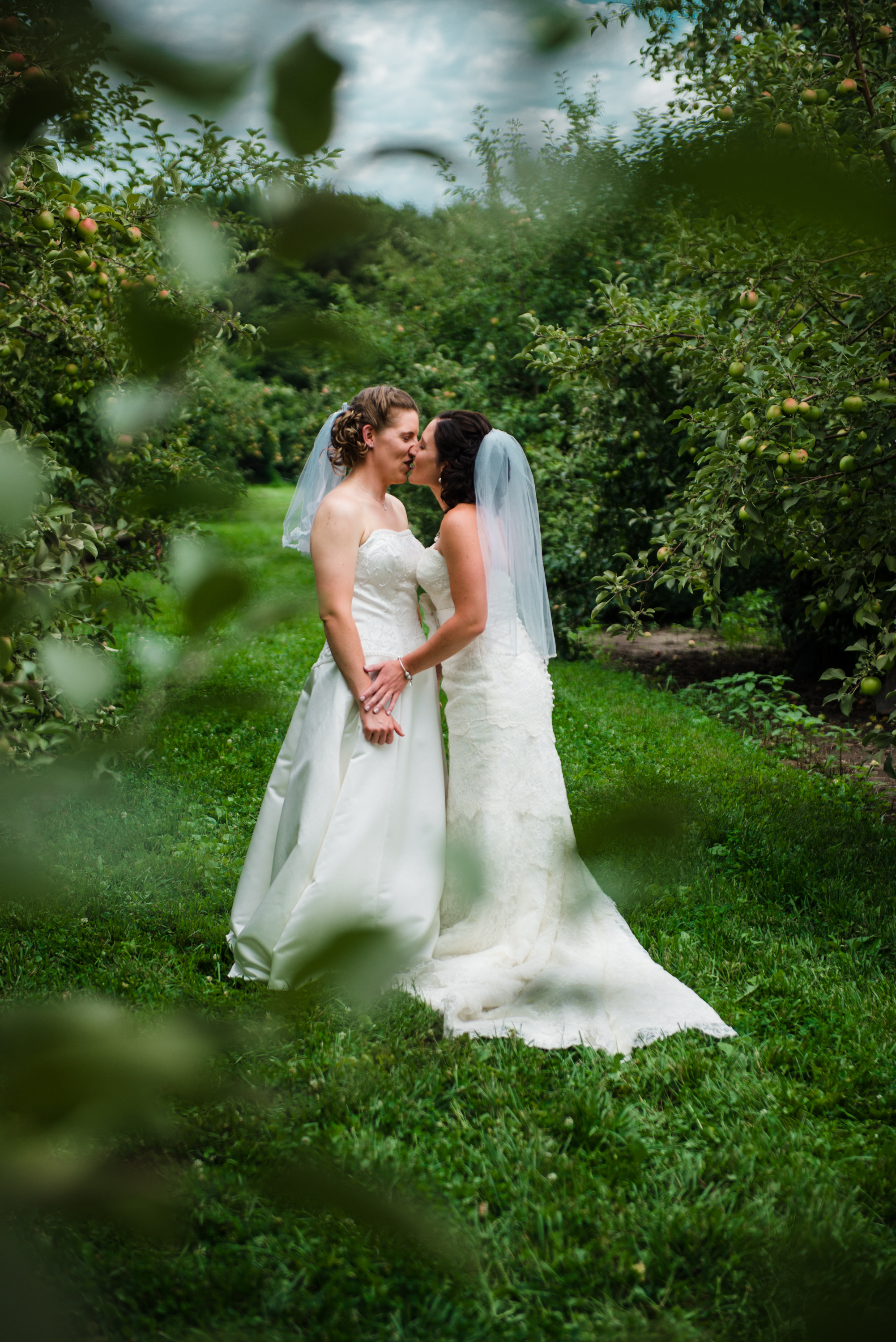 Minnesota LGBT Wedding Photography - Megan and Trista - RKH Images - First Look (51 of 60).jpg