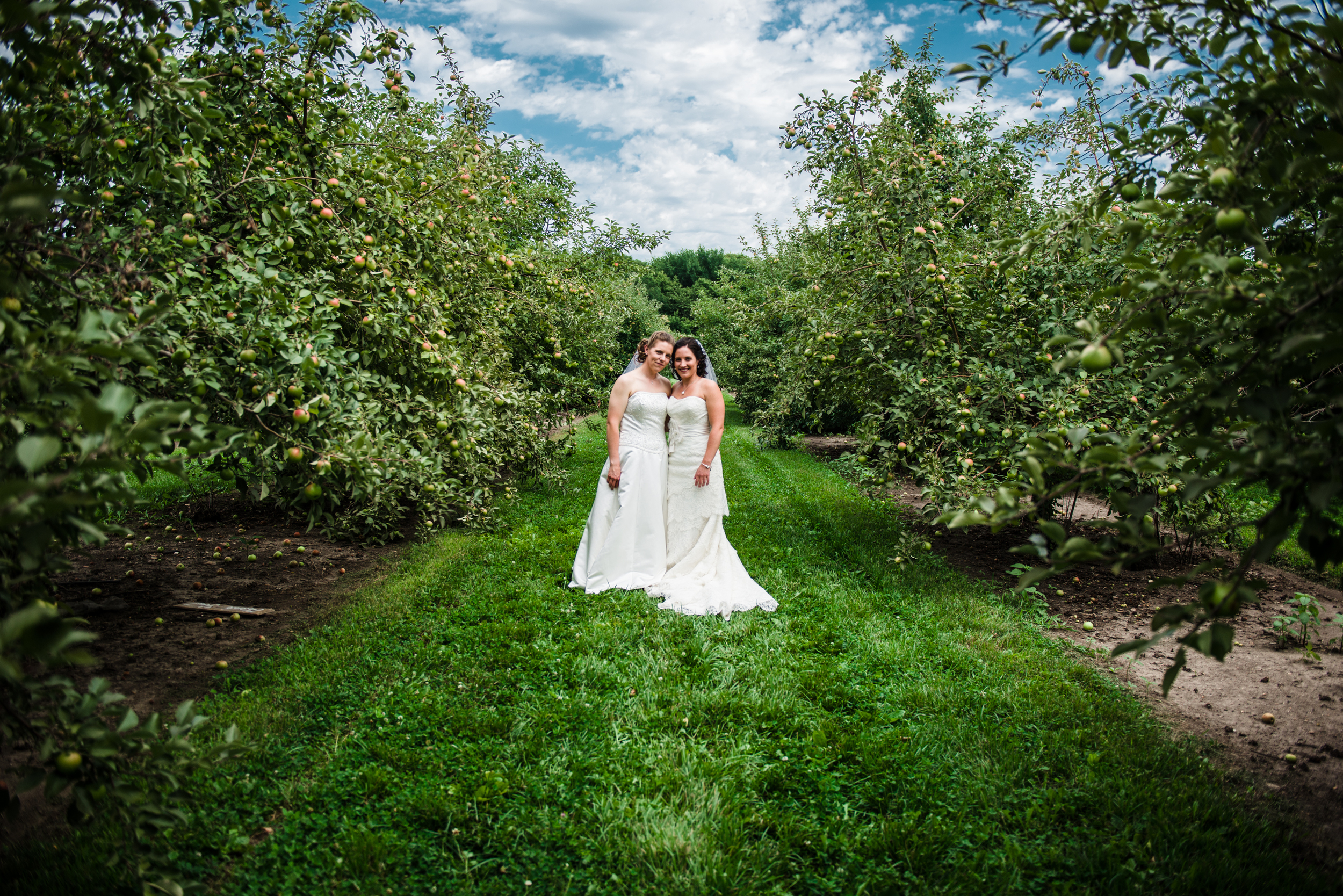 Minnesota LGBT Wedding Photography - Megan and Trista - RKH Images - First Look (55 of 60).jpg