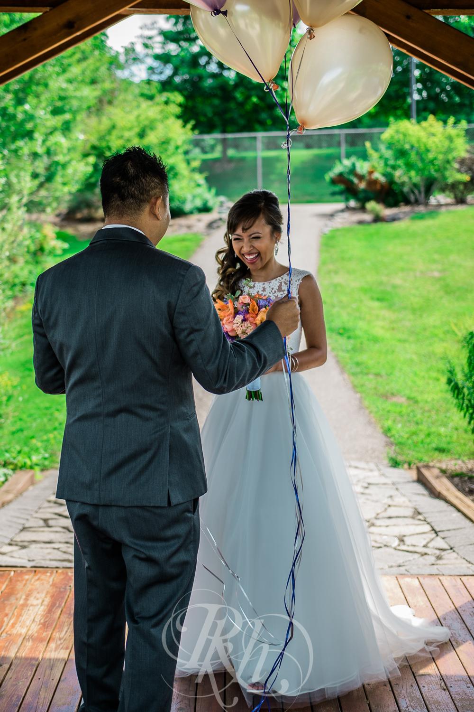 Thuy & Allen - MN Wedding Photography - Millenium Gardens -  RKH Images - Blog - First Look -3.jpg