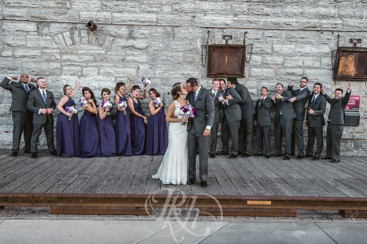 Brittany & Justin - Minnesota Wedding Photographer - Mill City Museum - RKH Images -24.jpg