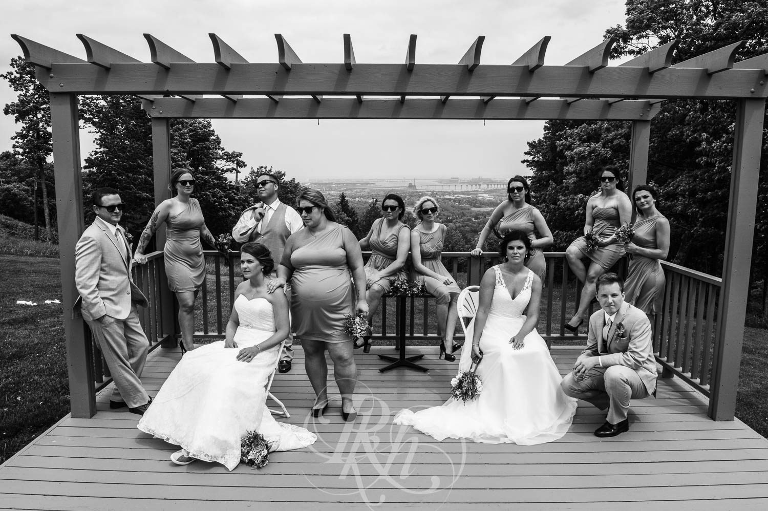 Britni & Paige - LGBT Minnesota Wedding Photography - Spirit Mountain - RKH Images  (20 of 32).jpg