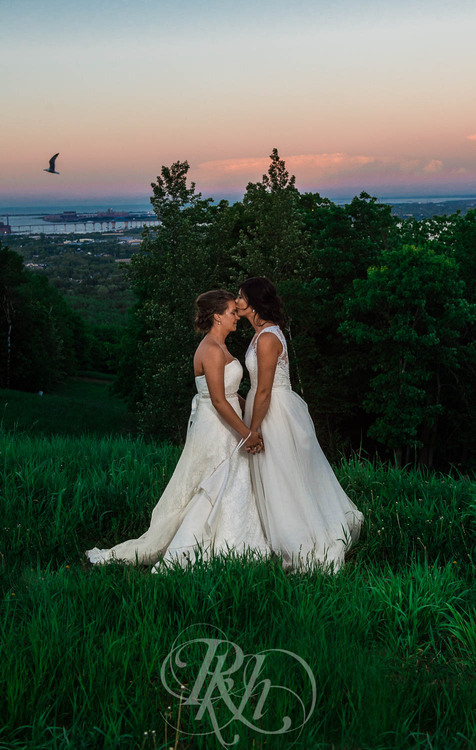 Britni & Paige - LGBT Minnesota Wedding Photography - Spirit Mountain - RKH Images  (31 of 32).jpg