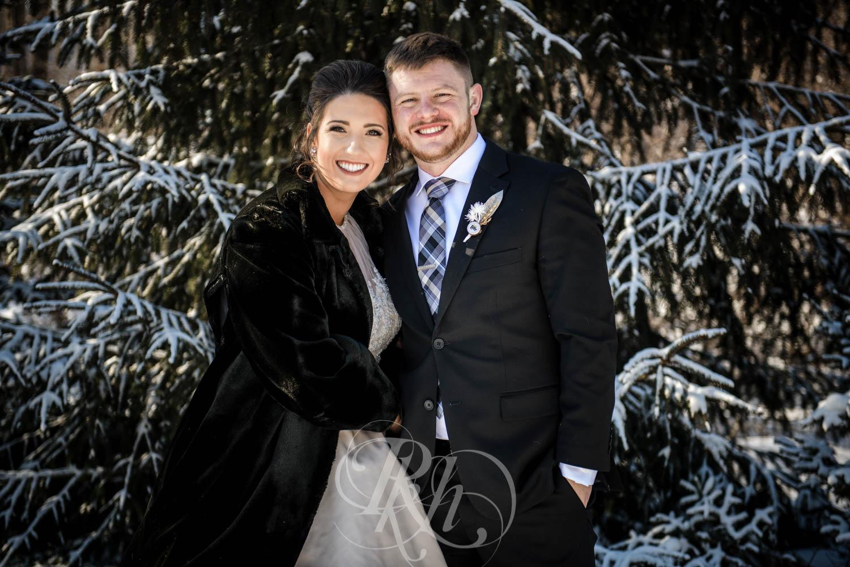 Bridget & Luke - Minnesota Wedding Photography - Creekside Farm Weddings and Events - Winter Wedding - RKH Images  (28 of 60).jpg