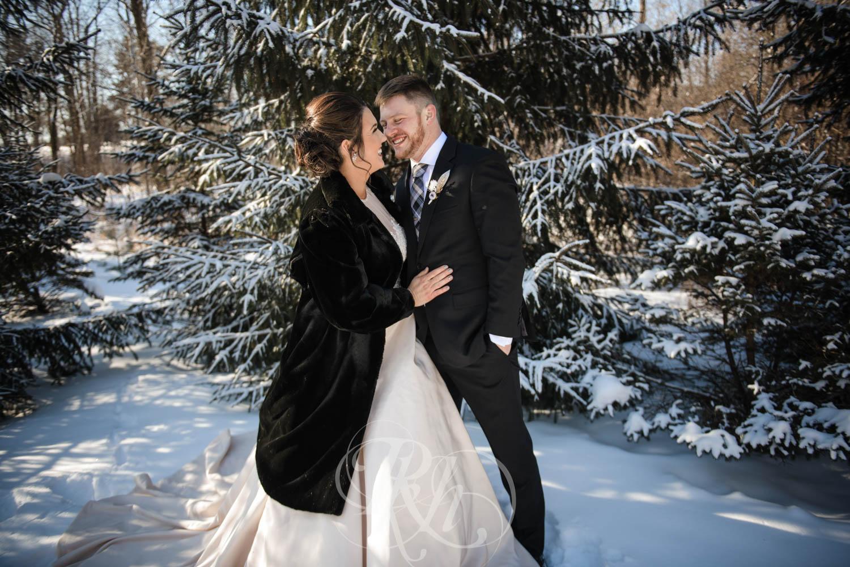 Bridget & Luke - Minnesota Wedding Photography - Creekside Farm Weddings and Events - Winter Wedding - RKH Images  (29 of 60).jpg