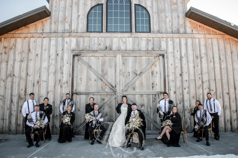 Bridget & Luke - Minnesota Wedding Photography - Creekside Farm Weddings and Events - Winter Wedding - RKH Images  (38 of 60).jpg