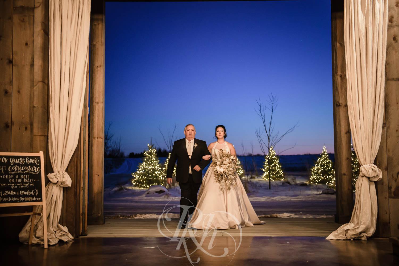 Bridget & Luke - Minnesota Wedding Photography - Creekside Farm Weddings and Events - Winter Wedding - RKH Images  (44 of 60).jpg