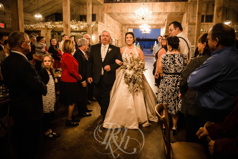 Bridget & Luke - Minnesota Wedding Photography - Creekside Farm Weddings and Events - Winter Wedding - RKH Images  (45 of 60).jpg