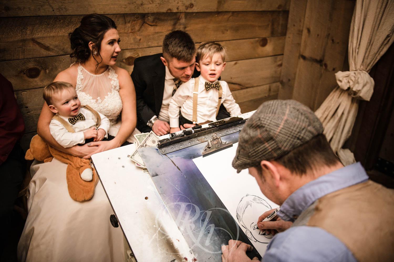Bridget & Luke - Minnesota Wedding Photography - Creekside Farm Weddings and Events - Winter Wedding - RKH Images  (54 of 60).jpg