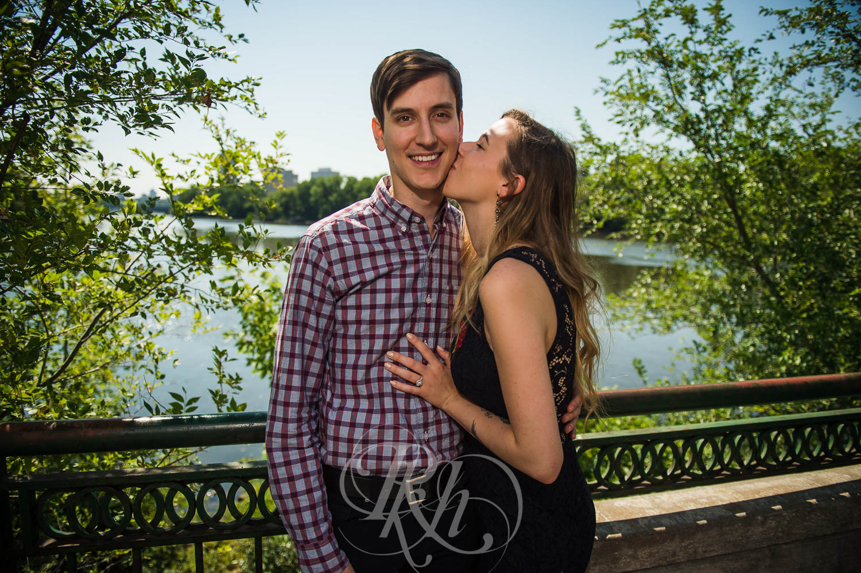Tiffany & Troy - Minnesota Engagement Photography - St. Anthony Main - RKH Images  (3 of 12).jpg
