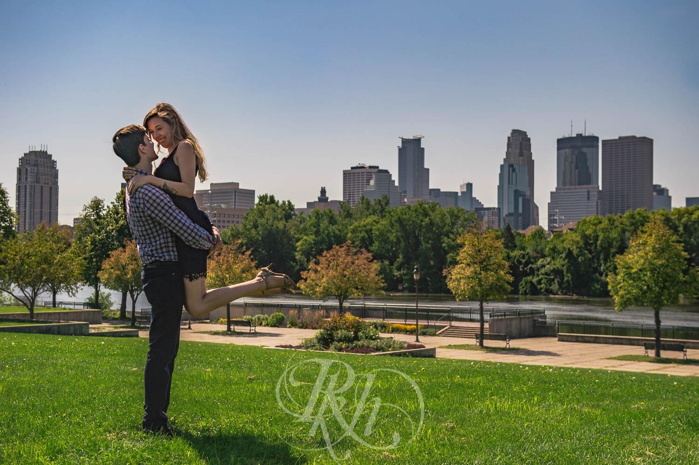 Tiffany & Troy - Minnesota Engagement Photography - St. Anthony Main - RKH Images  (5 of 12).jpg