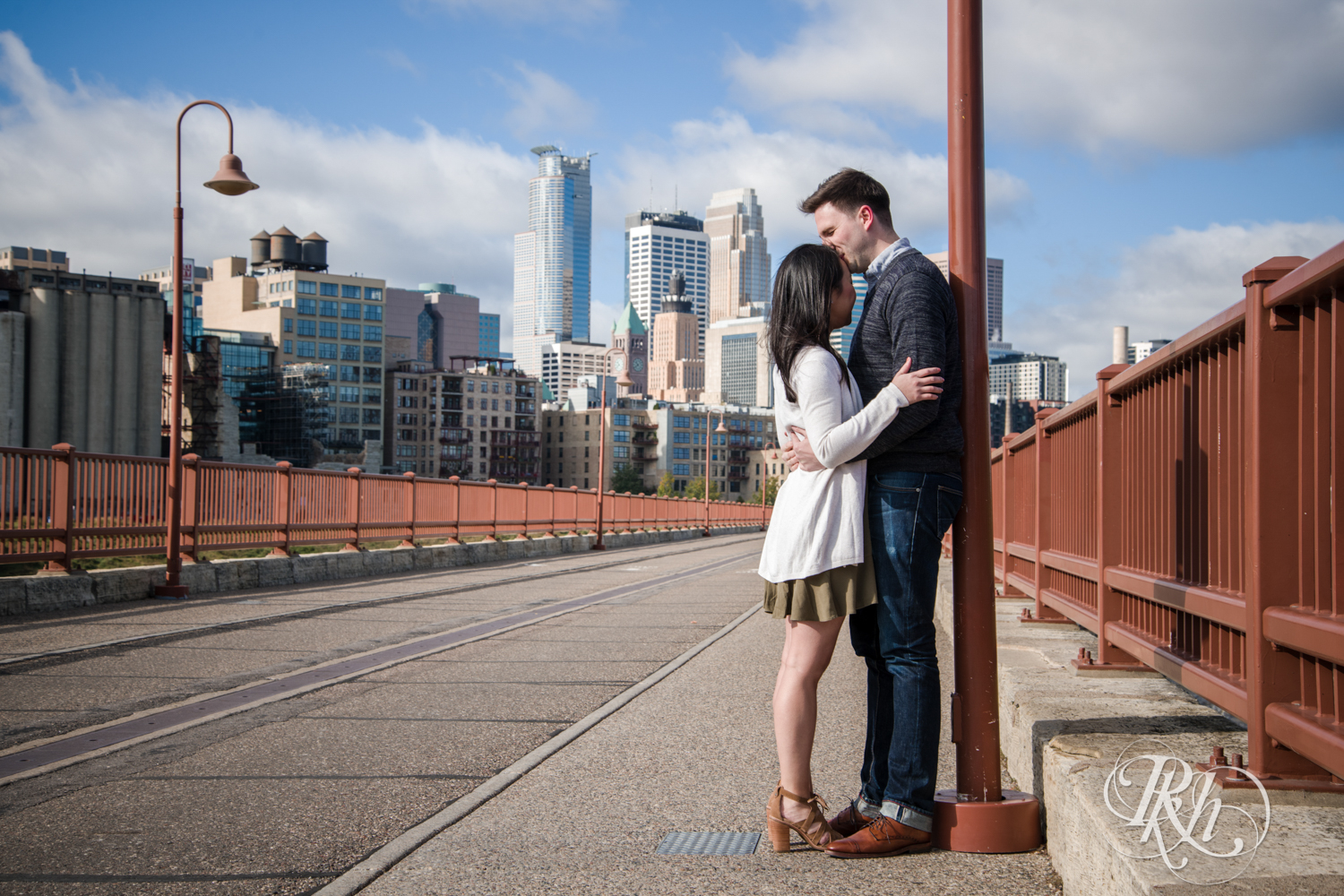Courtney and Nick - Minnesota Engagement Photography - Stone Arch Bride - RKH Images (1 of 14).jpg