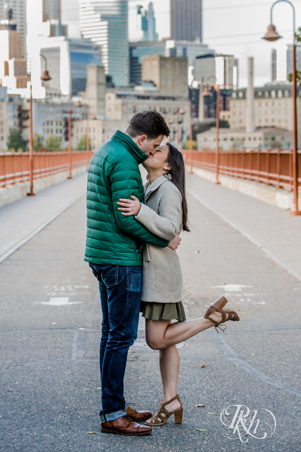 Courtney and Nick - Minnesota Engagement Photography - Stone Arch Bride - RKH Images (7 of 14).jpg