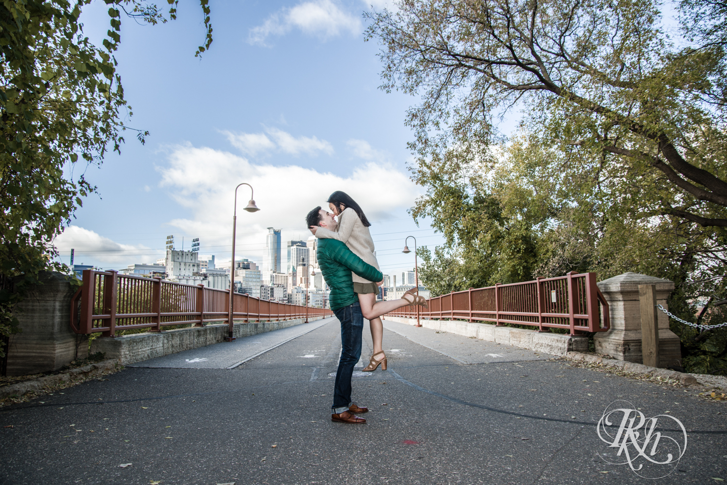 Courtney and Nick - Minnesota Engagement Photography - Stone Arch Bride - RKH Images (8 of 14).jpg