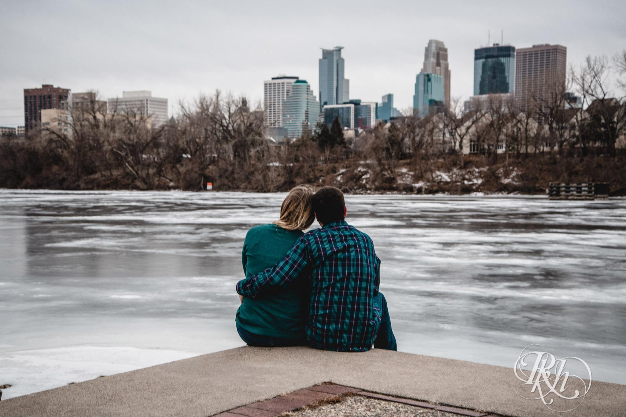 Libby & Ian - Minneapolis Engagement Photography - Honey Lounge - RKH Images (4 of 26).jpg