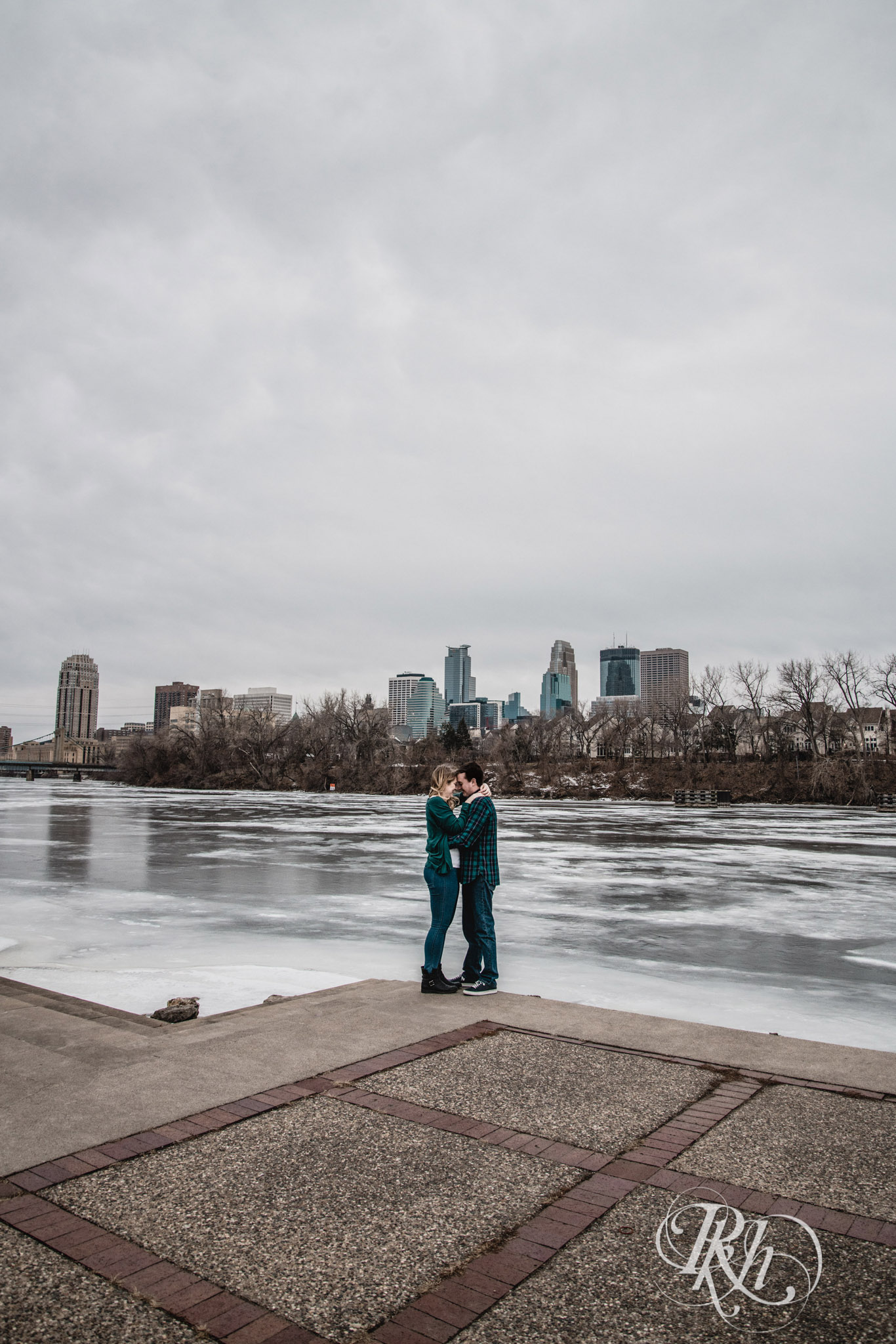 Libby & Ian - Minneapolis Engagement Photography - Honey Lounge - RKH Images (3 of 26).jpg