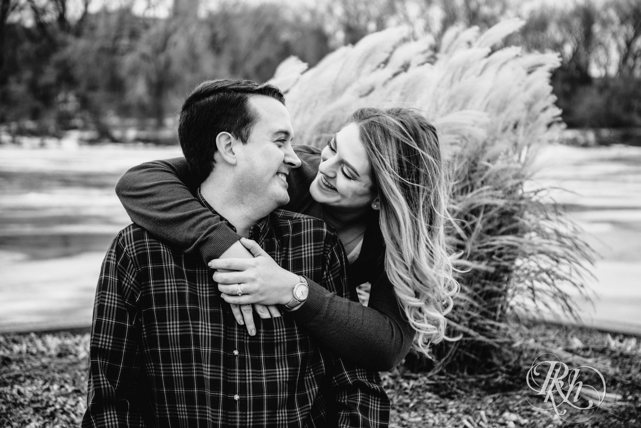 Libby & Ian - Minneapolis Engagement Photography - Honey Lounge - RKH Images (5 of 26).jpg