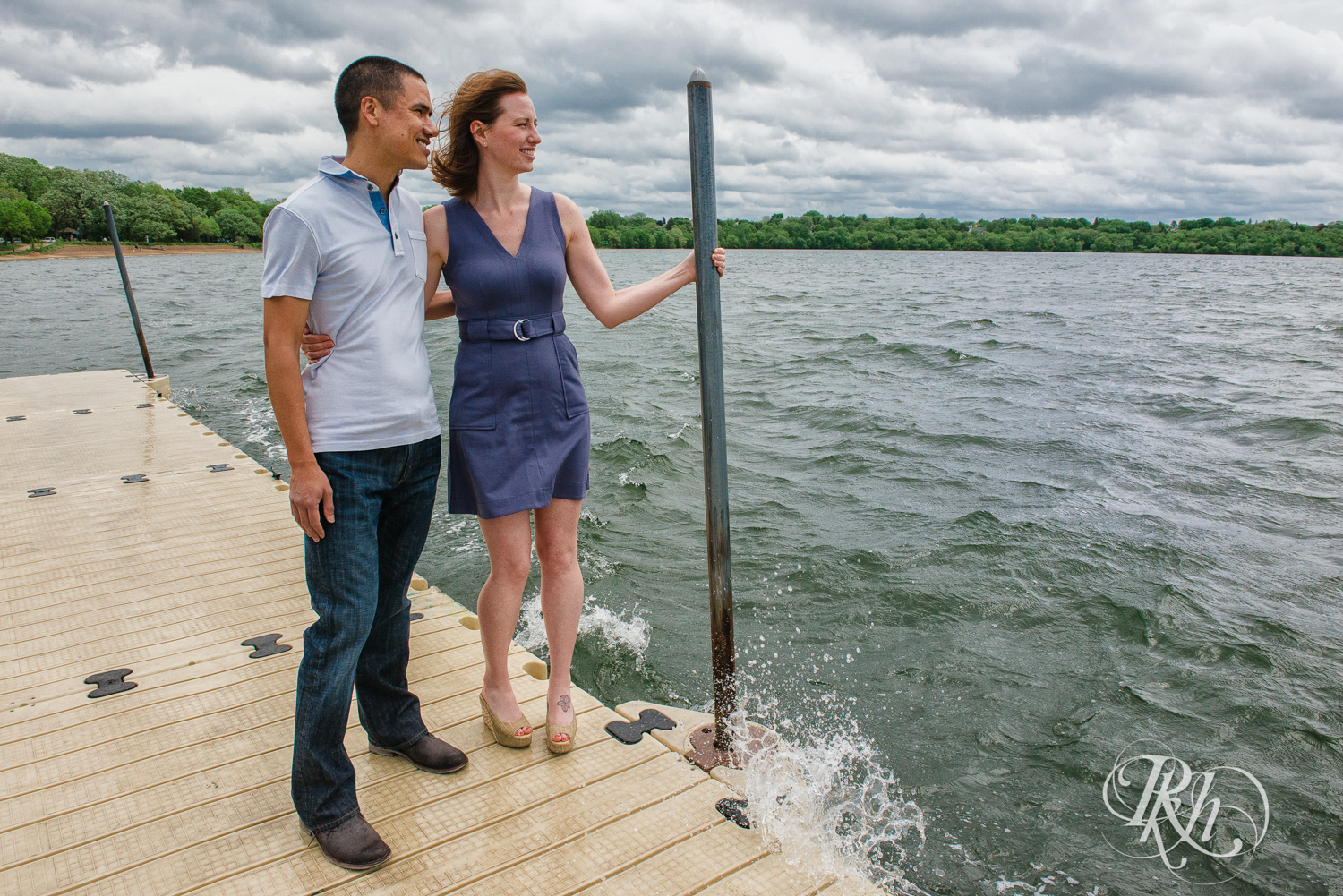 Tess and Eric - Lyndale Rose Garden - Minnesota Engagement Photography - RKH Images  (1 of 12).jpg