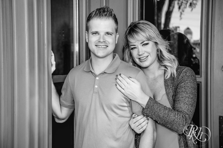 Katie & Brandon - Minnesota Engagement Photography - St. Anthony Main - RKH Images - Blog  (1 of 12).jpg