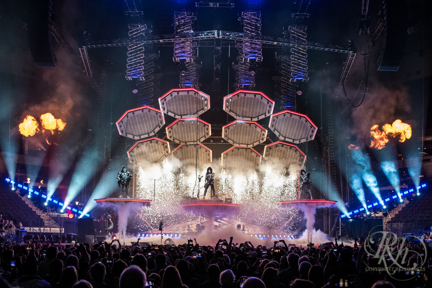 Kiss - End of the Road Tour - Target Center - Minneapolis - Concert Photography - RKH Images  (1 of 12).jpg