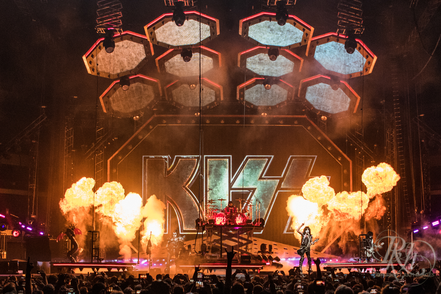 Kiss - End of the Road Tour - Target Center - Minneapolis - Concert Photography - RKH Images  (2 of 12).jpg