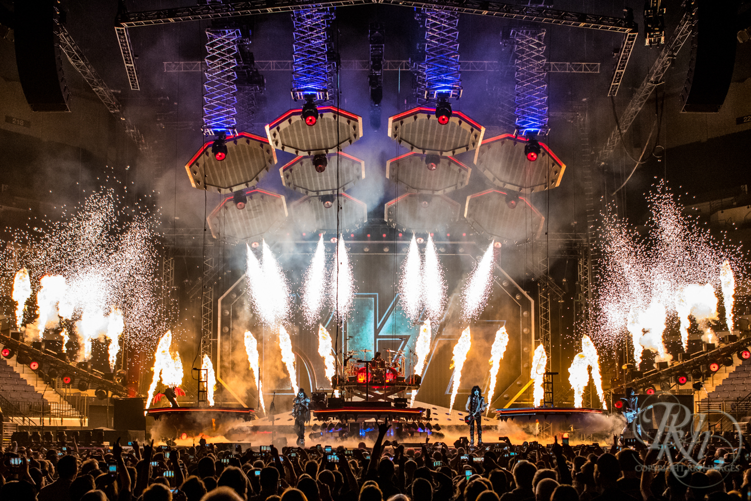 Kiss - End of the Road Tour - Target Center - Minneapolis - Concert Photography - RKH Images  (3 of 12).jpg