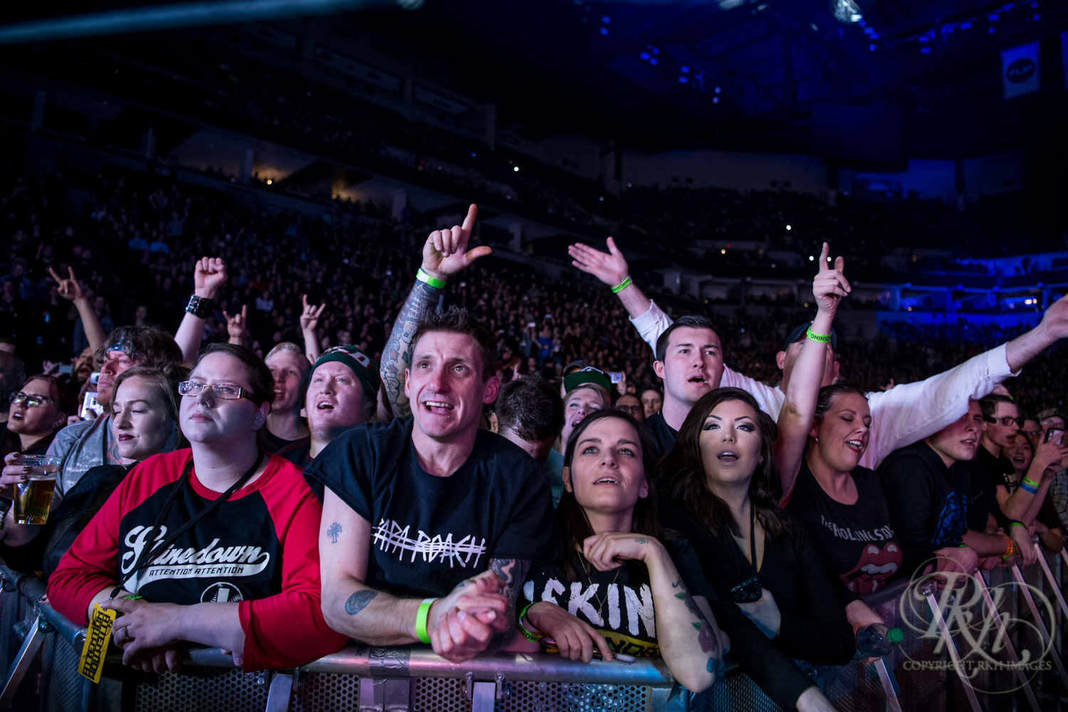 Papa Roach - Minnesota Concert Photography - Target Center - Minneapolis - RKH Images (6 of 16).jpg