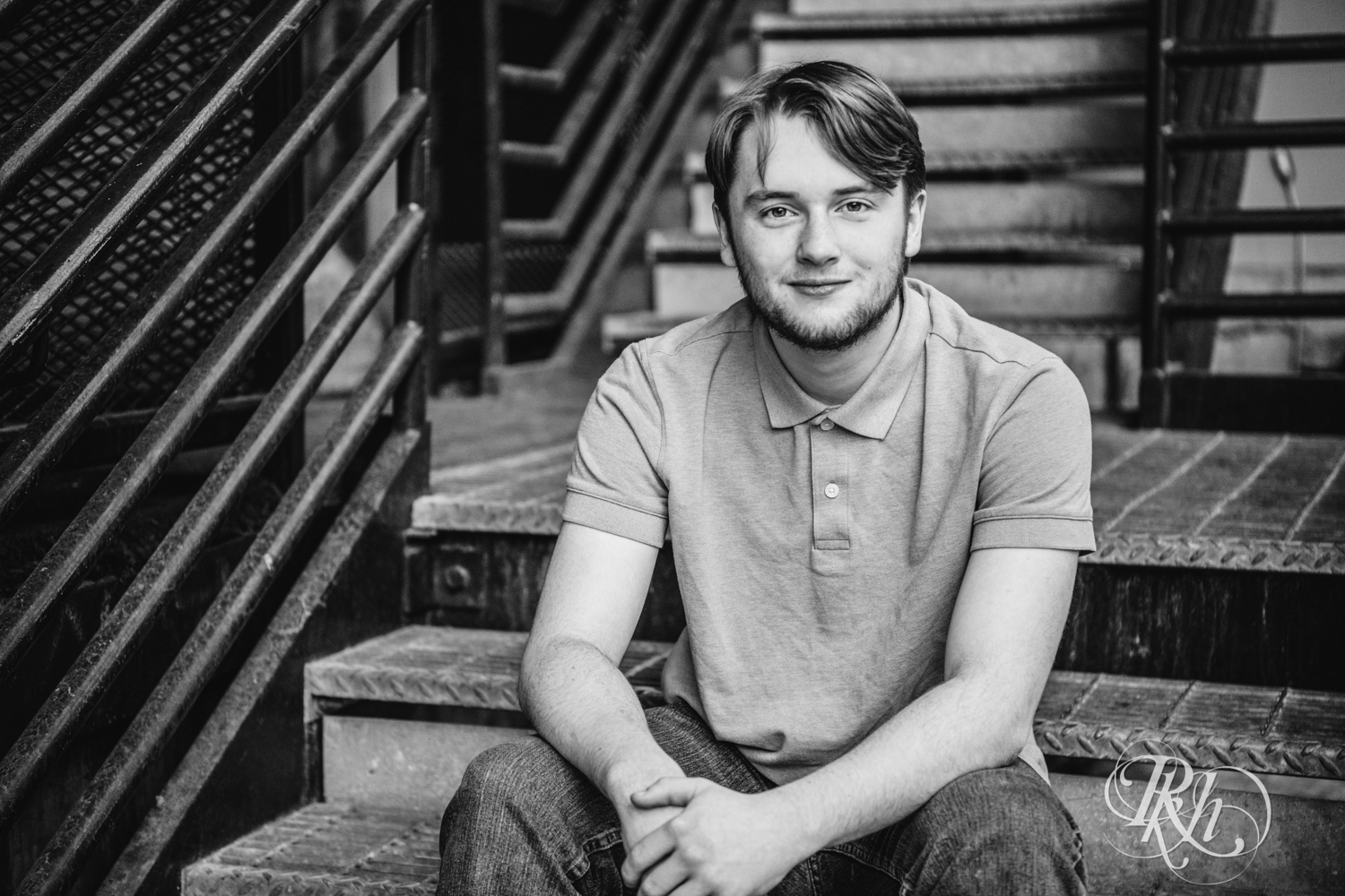 Kevin - Minnesota Senior Photography - Class of 2019 - Mill City Ruins -  RKH Images  (5 of 9).jpg