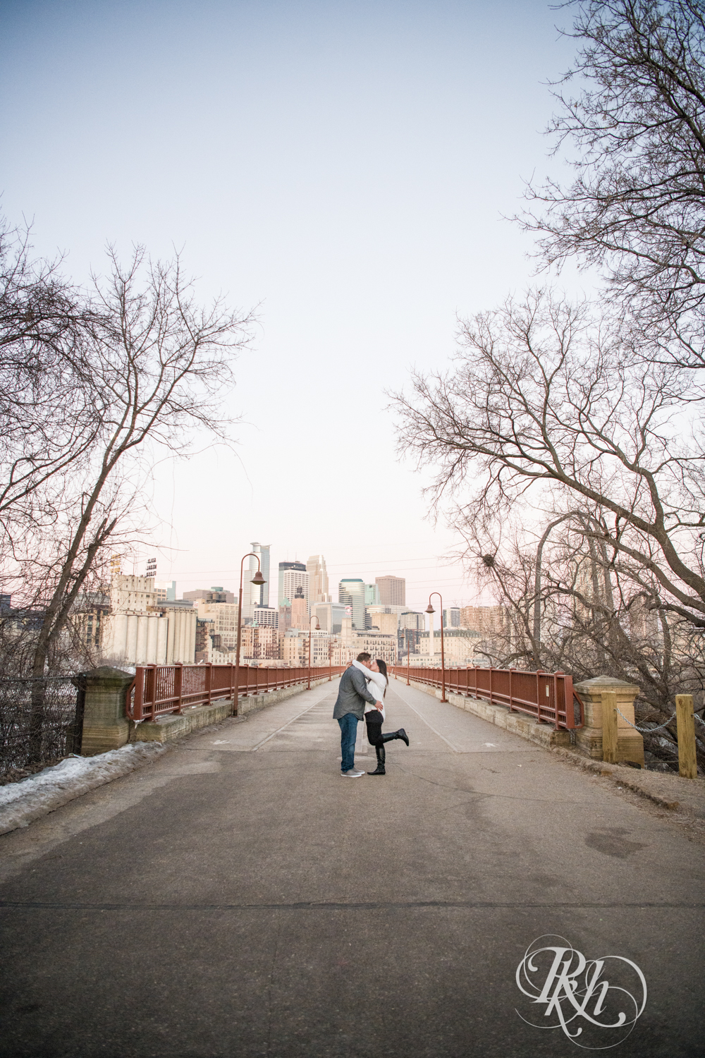 Jolene & Mike - Minnesota Engagement Photography - Sunrise - Stone Arch Bride and St. Anthony Main - RKH Images  (1 of 12).jpg