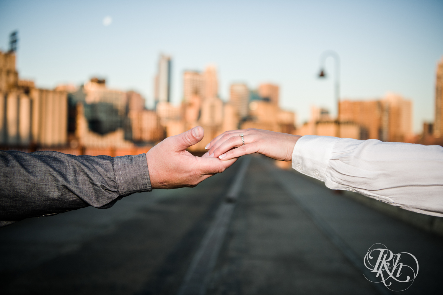 Jolene & Mike - Minnesota Engagement Photography - Sunrise - Stone Arch Bride and St. Anthony Main - RKH Images  (6 of 12).jpg