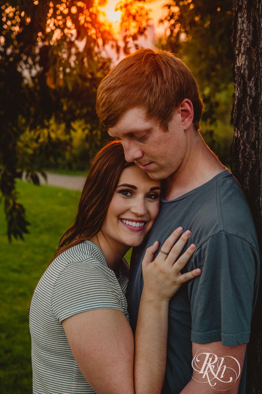 John and Kayla - Minnesota Sunset Engagement Photograpy - Minnesota Wedding Photographer - Indian Mounds Park - RKH Images  (12 of 13).jpg