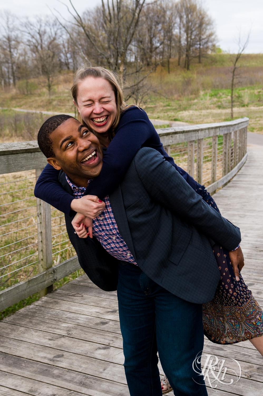 Laura and Adekunle - Minnesota Engagement Photography - Lebanon Hills Regional Park - RKH Images  (2 of 14).jpg