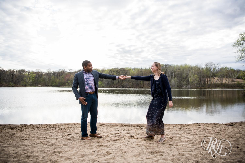 Laura and Adekunle - Minnesota Engagement Photography - Lebanon Hills Regional Park - RKH Images  (5 of 14).jpg