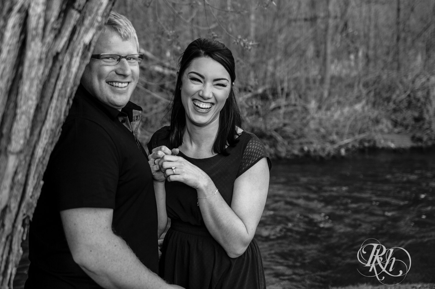 Chelsey & Erik - Minnesota Engagement Photography - Creekside Farm and Events - Rush City - RKH Images  (1 of 18).jpg