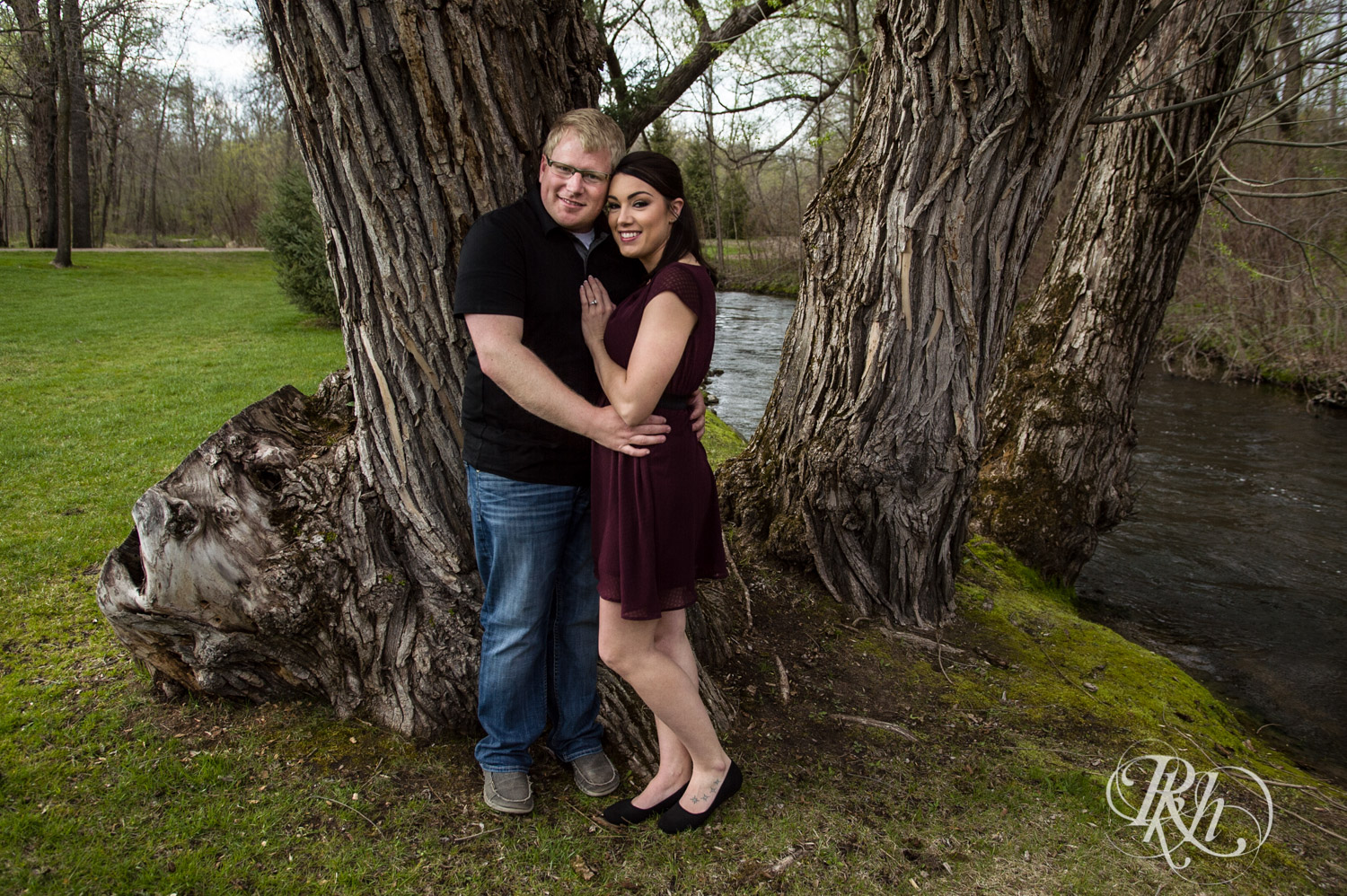 Chelsey & Erik - Minnesota Engagement Photography - Creekside Farm and Events - Rush City - RKH Images  (2 of 18).jpg