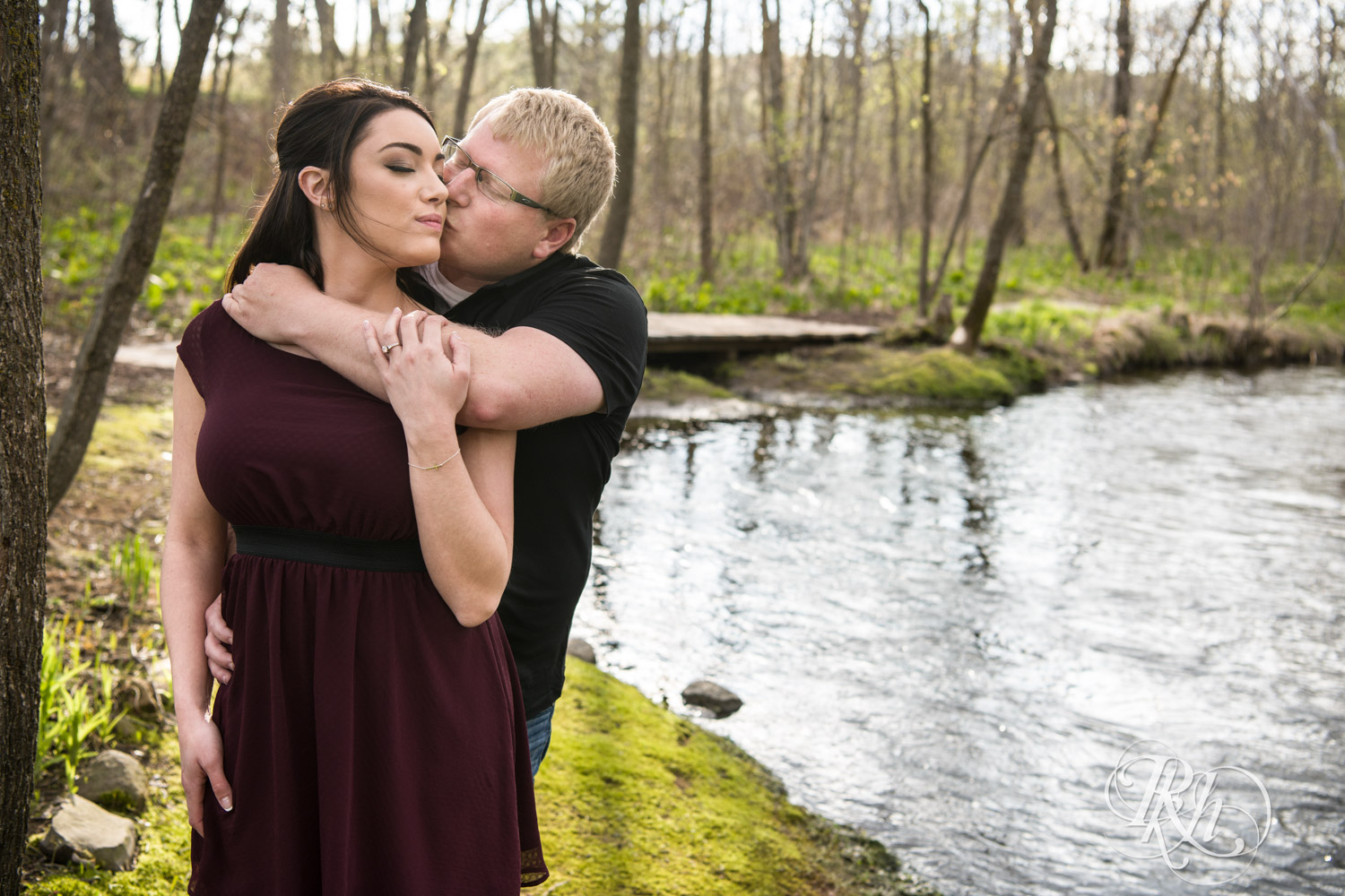 Chelsey & Erik - Minnesota Engagement Photography - Creekside Farm and Events - Rush City - RKH Images  (5 of 18).jpg