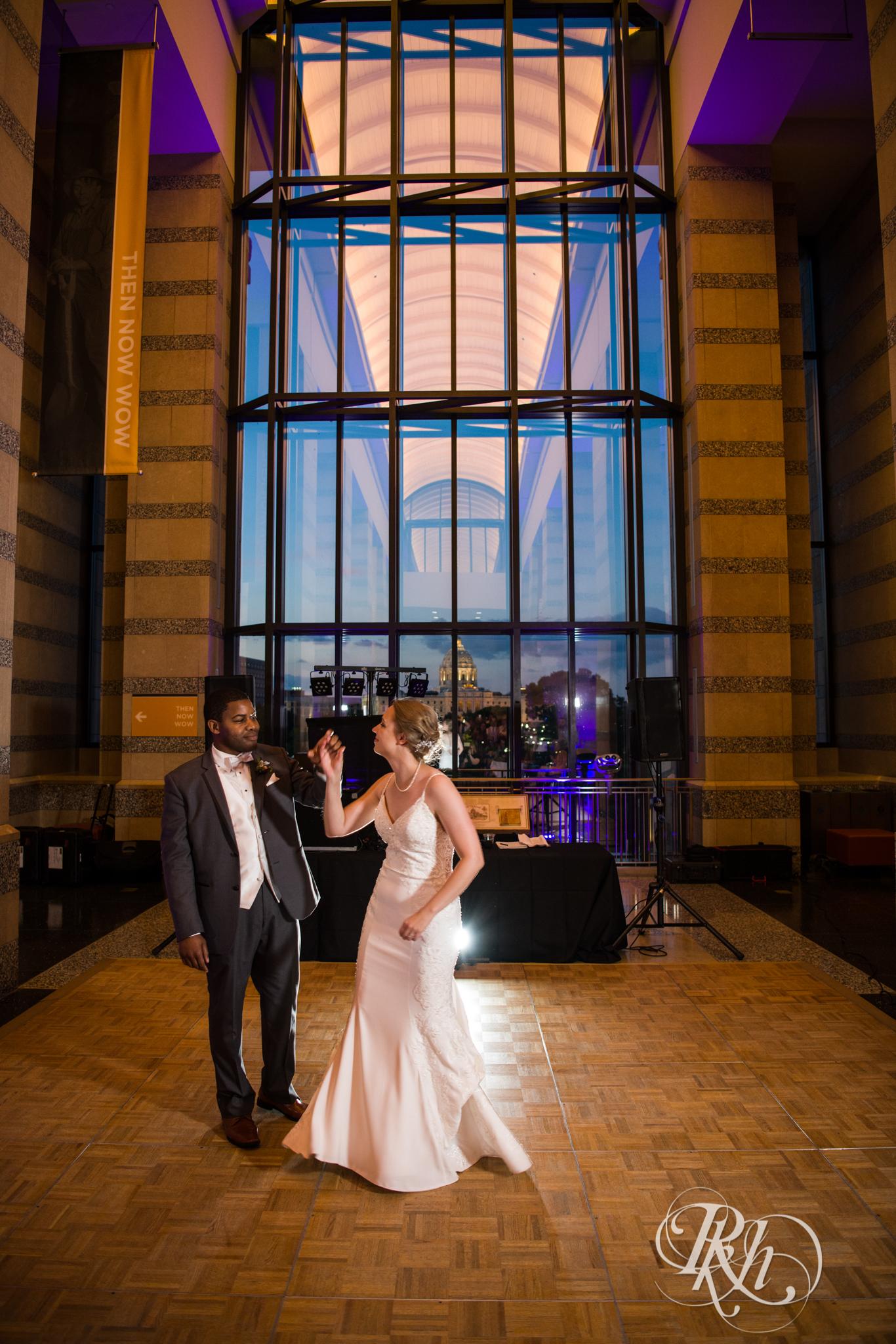 Laura and Adekunle - Minnesota Wedding Photographer - Minnesota History Center - RKH Images - Blog (69 of 75).jpg