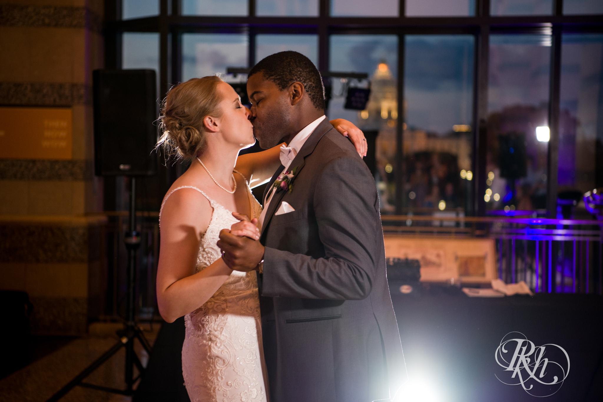 Laura and Adekunle - Minnesota Wedding Photographer - Minnesota History Center - RKH Images - Blog (70 of 75).jpg