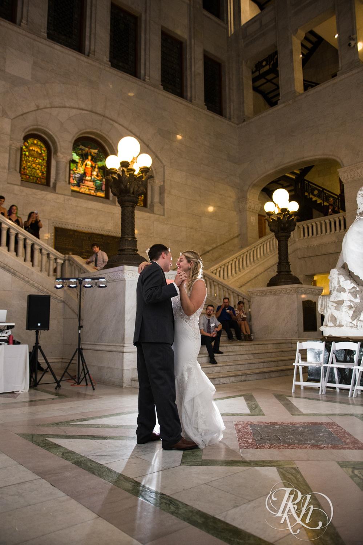 Libby and Ian - Minnesota Wedding Photography - Minneapolis City Hall - RKH Images - Blog  (45 of 53).jpg